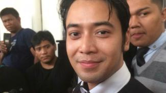 Kriss Hatta di Pengadilan Negeri Jakarta Selatan