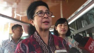 Mantan Menteri Kesehatan, Nila Moeloek.