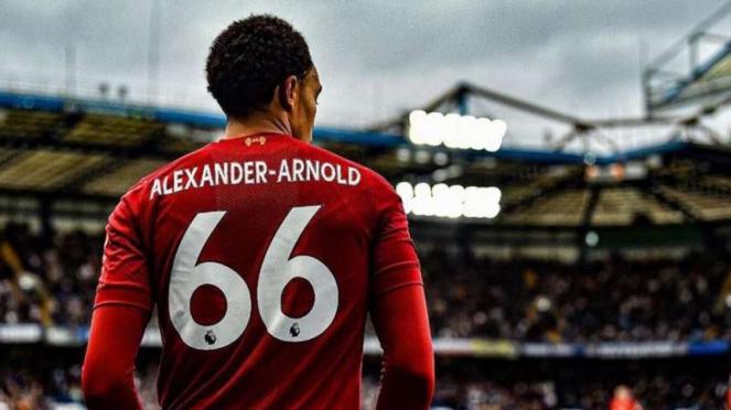 Pemain belakang Liverpool, Trent Alexander-Arnold