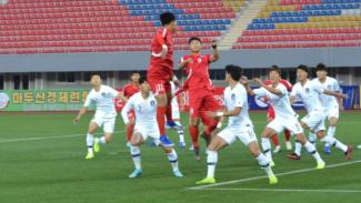 Duel Korut vs Korsel di ajang Kualifikasi Piala Dunia 2022