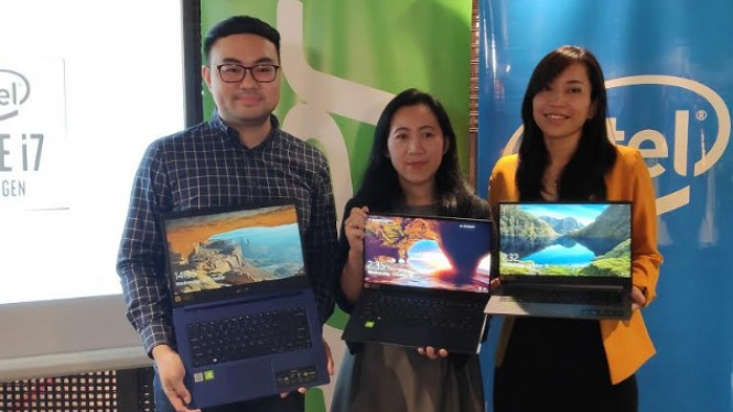 Rangkaian laptop baru Acer