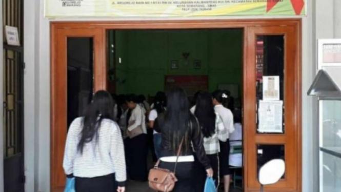 PSK di lokalisasi Sunan Kuning, Semarang