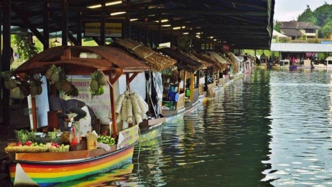 Rencana Liburan Ke Floating Market Lembang