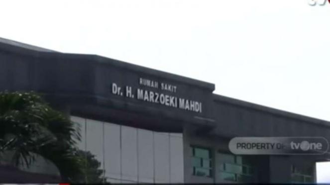 Gedung Rumah Sakit Jiwa dr Marzoeki Mahdi, Bogor, Jawa Barat.