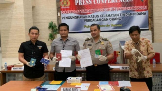 Polisi bongkar kasus perdagangan orang dengan modus pengantin pesanan