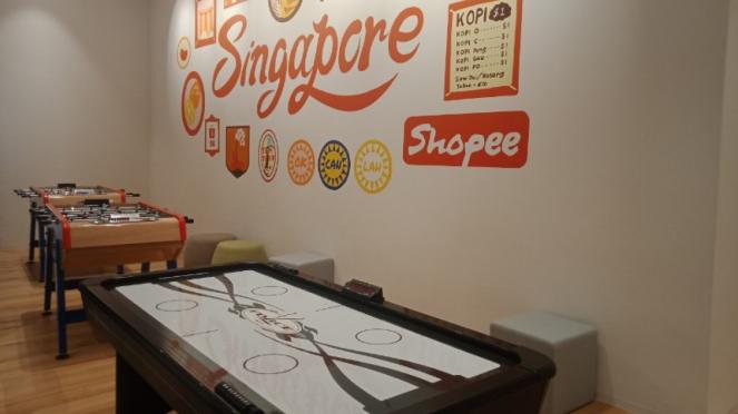 Fun zone di kantor Shopee Singapura
