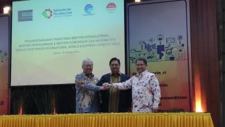 Tiga menteri teken aturan IMEI