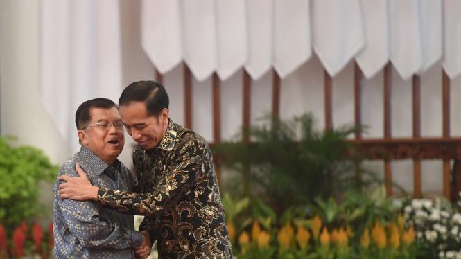 Perpisahan Kabinet Kerja Jokowi-JK