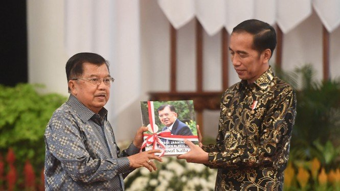 Perpisahan Kabinet Kerja Jokowi-JK Jusuf Kalla