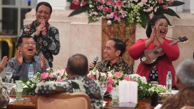 Perpisahan Kabinet Kerja Jokowi-Jusuf Kalla.