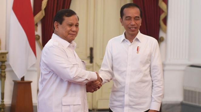 Prabowo Bertemu Presiden Jokowi