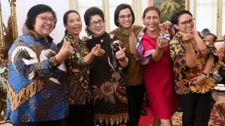 Menteri Perempuan di Kabinet Kerja