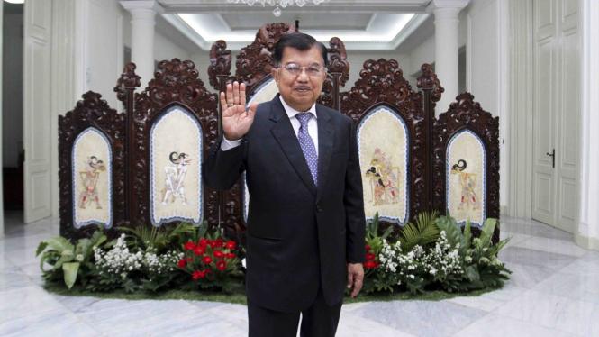 Purnatugas, Jusuf Kalla Tinggalkan Istana Wakil Presiden