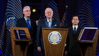 Pelantikan Igor Ashurbeyli sebagai kepala negara atau presiden Asgardia