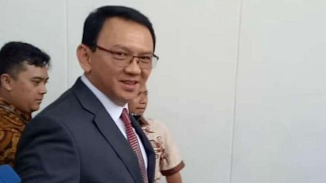 Mantan Gubernur DKI Jakarta Basuki Tjahaja Purnama alias Ahok.