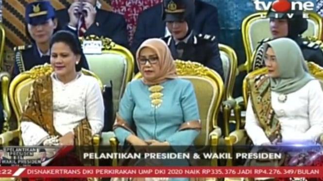 Ibu Iriana Joko Widodo, Hajah Mufida Jusuf Kalla, Ibu Hajah Wuri Estu Maruf Amin