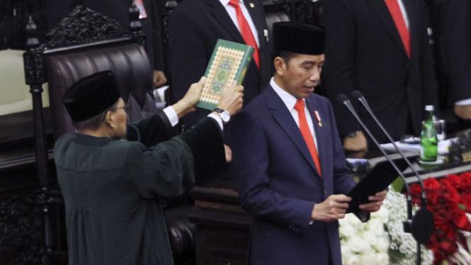 Serba-serbi Pelantikan Presiden Jokowi