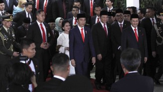 Pelantikan Presiden Jokowi dan Wakil Presiden KH.Ma'ruf Amin