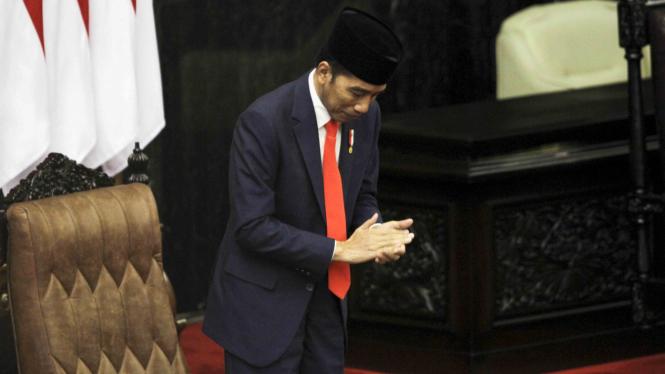Presiden Joko WIdodo, Pelantikan Presiden dan Wakil Presiden