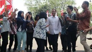 Pendiri Gojek, Nadiem Makarim datang ke Istana Negara