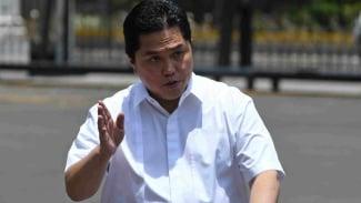 Pengusaha Erick Thohir datangi Istana dengan kemeja putih