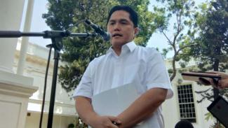 Mantan Ketua Tim Kampanya Nasional Jokowi-Ma'ruf, Erick Thohir.