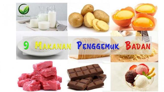 9 Makanan Penggemuk Badan