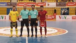 Timnas Futsal Indonesia Vs Malaysia di AFF Futsal 2019