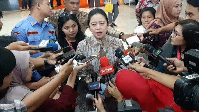 Ketua DPR sekaligus Ketua DPP PDIP Puan Maharani