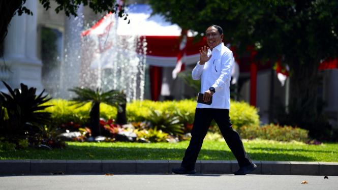 Zainudin Amali di Istana Kepresidenan Jakarta
