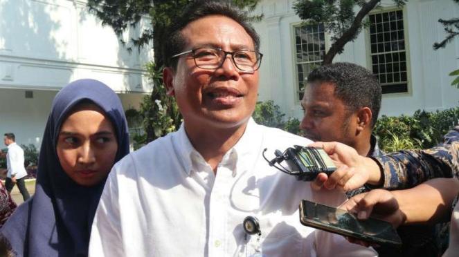 Juru bicara Presiden Jokowi, Fadjroel Rachman.