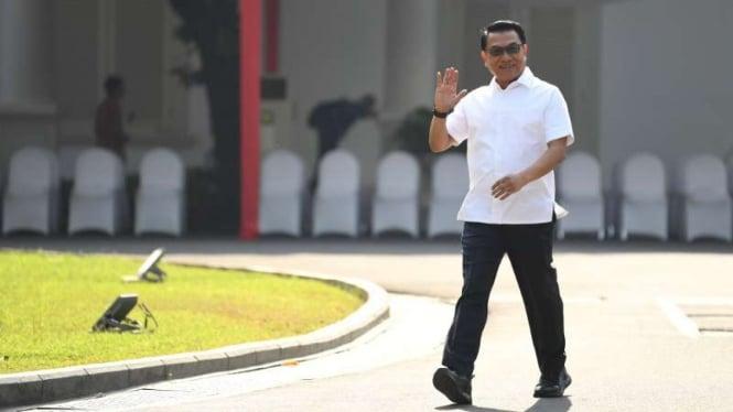Moeldoko di Istana Kepresidenan Jakarta