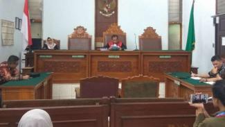 Sidang putusan praperadilan mantan Direktur Utama Perum Jasa Tirta II.