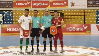 Timnas Futsal Indonesia Vs Vietnam di AFF Futsal 2019t