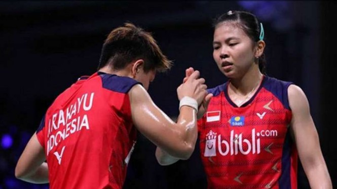 Greysia/Apriyani Lumat Duo Gadis Jepang di French Open