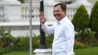 Menteri Kesehatan Terawan Agus Putranto di Istana Kepresidenan Jakarta, Selasa 22 Oktober 2019.