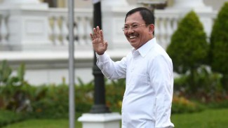 Terawan Agus Putranto di Istana Kepresidenan Jakarta, Selasa 22 Oktober 2019.