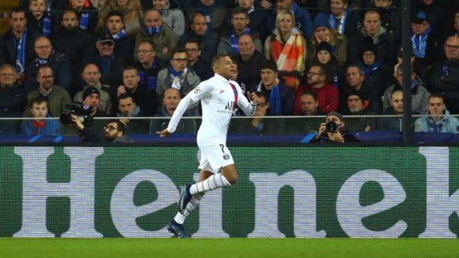 Striker belia Paris Saint-Germain, Kylian Mbappe