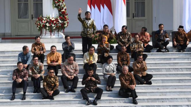 Prabowo Subianto Jadi Menteri Pertahanan di Kabinet Indonesia Maju.
