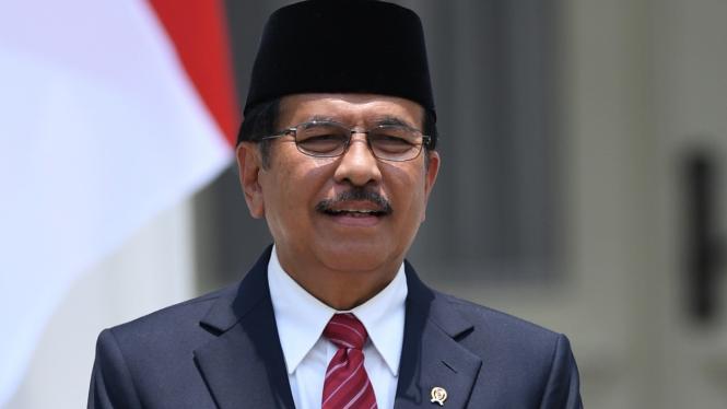 Menteri ATR/Kepala BPN Sofyan Djalil