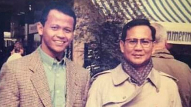 Foto Jadul Prabowo Subianto-Edhy Prabowo Simpan Cerita Haru
