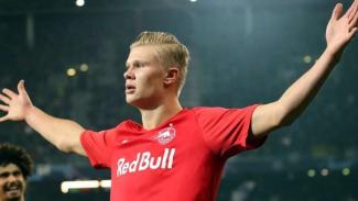 Penyerang Red Bull Salzburg, Erling Braut Haaland
