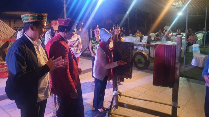 Acara Penguatan Pranata Adat dan Budaya di Kabupaten Manggarai