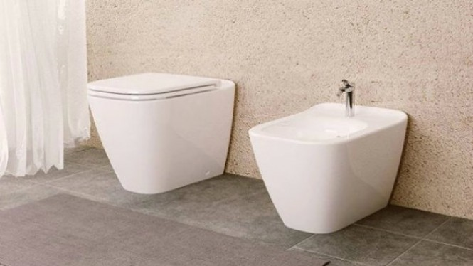 Ilustrasi toilet duduk
