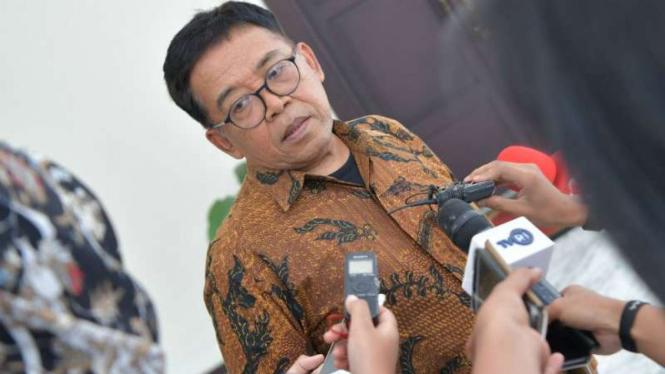 Masduki Baidowi, juru bicara Wakil Presiden Ma'ruf Amin.