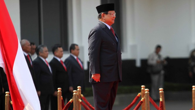 Menhan Prabowo Subianto
