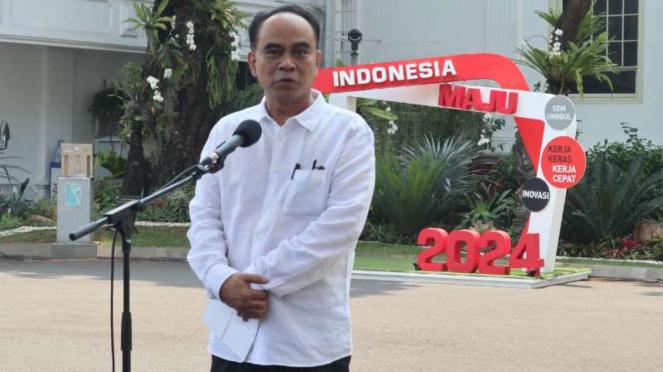 Ketua Umum Projo, Budi Arie Setiadi di Istana Negara.