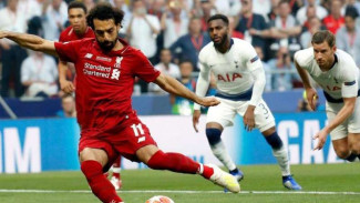 Winger Liverpool Mohamed Salah.