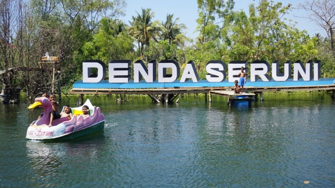 Wisata Denda Seruni, Lombok Timur.