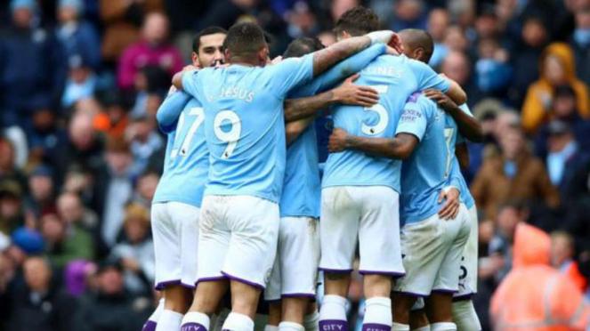 Pemain Manchester City.